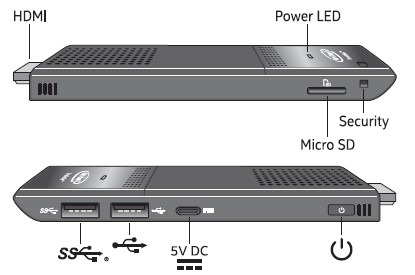 Intel Compute Stick STK1AW32SC – McRetro net